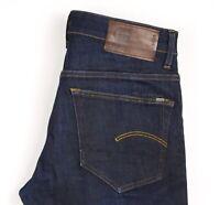 G-Star Raw Herren 3301 Konisch Slim Jeans Stretch Größe W30 L30 ATZ1323