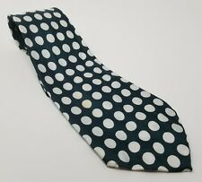 Vintage green and white polka dot tie The Manhattan Smart Menswear Cumberland MD