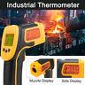 Digital Temperature Industry Thermometer Gun LCD IR Laser Infrared Pyrometer