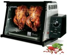 Chicken Rotisserie Oven 4000 Series Showtime Countertop Stainless Steel Cooking