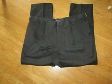 Men's Dockers 44x30 Black D3 Classic Fit  - Pleat Front Excel Pre-owned Cond.