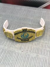 WWE Mattel Elite IC Belt Intercontinental Championship White AEW NXT WCW WWF