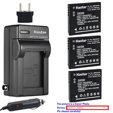 Kastar Battery Travel Charger for Panasonic DMW-BCK7E & Panasonic Lumix DMC-FH4