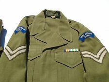 Vietnan War 1967 Dated Australian Signal Corps Uniform With Pants