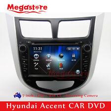 "7"" Car DVD Nav GPS Head Unit Stereo Radio For Hyundai Accent 2011-2014"