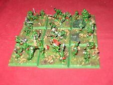 Warhammer Fantasy 9 snotling bases to use in an orc or goblin army