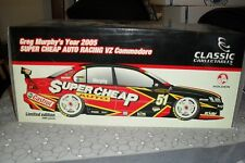 DIE CAST MODEL CAR GREG MURPHYS 2005 SUPER CHEAP AUTO RACING VZ COMMODORE
