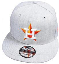 New Era Houston Astros Gris Heather MLB Gorra Snapback 9fifty Limitado Edición
