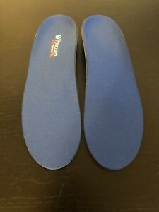 Powerstep Blue Pinnacle Insoles - Size D - M 7-7.5 W 9-9.5