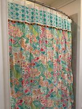 Lilly Pulitzer Custom shower curtain Via Flora Pb Teen