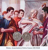 Brutus, Eid Mar, Roman Coin, Roman Empire Assassination of Julius Caesar, (20-S)