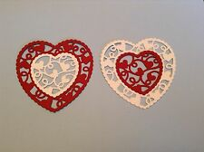 Heart frame and Insert die cuts (20 in total)