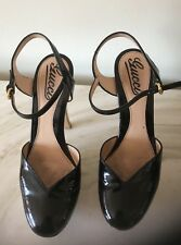 Gucci  Sandals Womens Heels Black Size 36