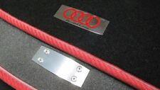 2 pcs Emblems Logo Badge Sticker Quattro for Audi Vehicles