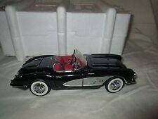 Franklin Mint 1958 Chevrolet Corvette Convertible 1:24 Scale Diecast