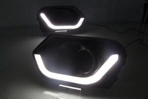 For Suzuki Dzire 2017 -2018 LED DRL Daytime Running Driving Light With Turn 2PCS