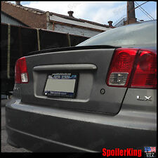 Rear Trunk Lip Spoiler Wing (Fits: Honda Civic 2001-05 4dr) SpoilerKing