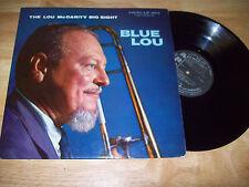 "1960 The Lou McGarity Big Eight 12"" MONO Blue Lou ARGO LP 654 FREE US SHIPPING"