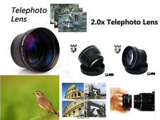 Z56u 2X TELE telephoto Lens for Nikon 1 J1 J2 J3 V1 V2 S1 AW1 10-30mm 30-110mm