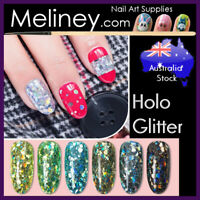 Holographic Glitter Nail art Confetti Decorations Manicure Party decals