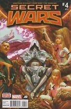 Secret Wars #4. Sep 2015. Marvel. VF-.