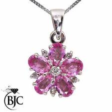 Collares y colgantes de joyería con diamantes rosa