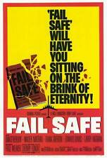 FAIL SAFE Movie POSTER 27x40 B Henry Fonda Dan O'Herlihy Walter Matthau Larry