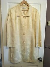 PLANET SIZE 16 LEMON DARK CREAM JACKET USED