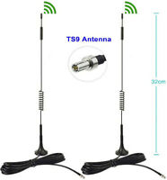 Verizon Wireless Jetpack 8800L 4G LTE Mobile Hotspot TS9 Antenna Omni Aerial 2pc