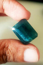 22.34CTS WONDERFUL HUGE CERTIFIED NATURAL UNHEATED GRANDIDIERITE-LOOSE GEMSTONE