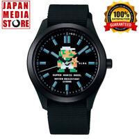 Seiko Alba ACCK423 Super Mario Bros. Collaboration Limited Edition Quartz Watch