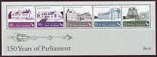 Nueva Zelanda 2004 150 años de Parlamento Menta desmontado Hojita Bloque