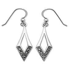 Unbranded Sterling Silver Marcasite Fine Earrings