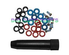 8 Set Fuel Injector Repair Seal Kit for CHEVROLET / GMC / BUICK FJ10062