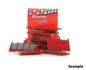 Plaquettes frein moto avant BREMBO YAMAHA TW 200 2001 - 2007 07YA3707