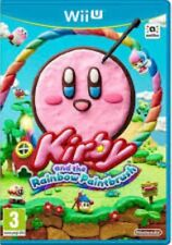 Kirby And The Rainbow Paintbrush - Nintendo Wii U Game. Case, 2 inserts & disc.