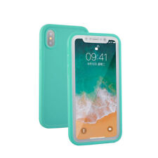 For iPhone XS MAX XR 7 8 Plus 360° Waterproof Dustproof Hybrid Rubber Case Cover