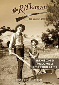 The Rifleman: Season 3 Volume 2 (Episodes 94 - 110) [New DVD] 3 Pack