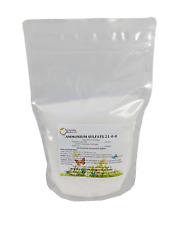 Ammonium Sulfate Fertilizer 21-0-0 Plus 24% Sulfur 100% Water Soluble 2 Pounds