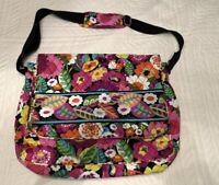 "Vera Bradley VA VA BLOOM Retired Messenger Bag 12"" x 16"" July 2012 - Nov. 2013"