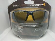 a0bafe5116 Carhartt Thunderbay Safety Eyewear Shiny Black Frame Grey AF Lens-NIP