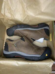 KEEN Outdoor 1002269 Men's Brixen Waterproof Low Cut Insulated Slip-On Shoes