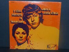 John & Anne Ryder I Still Believe In Tomorrow LP vinyl Record NEW SEALED cut out