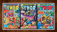 Lot of 3 The Mighty Thor #242 (9.0) 243 (6.0) 244 (9.0) See Listing for Details