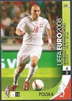 Panini UEFA Euro 2008 Échange Carte #135-POLAND-MARIUSZ Lewandowski