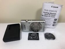 Canon PowerShot ELPH 180 20.0MP Digital Camera - Silver