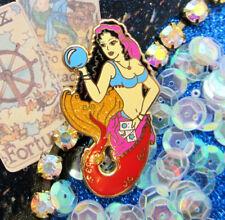 Enamel Pinbadge Witch Wicca Jewelry Gypsy Fortune Teller Mermaid Siren Hard