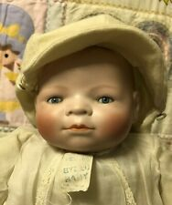 Bye-Lo Baby by Grace S. Putnam w/ red stamp, Bye-Lo clothing with tag, frog body