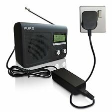 5.5 VOLT Power Supply Adapter Charger for PURE Evoke D2 / D240 Digital Radio