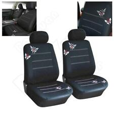 Standard Mesh Fabric 2 Seat Car Seat Cover Cushion For Interior Accessories NEW